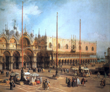 Piazza San Marco - Looking Southeast - Canaletto