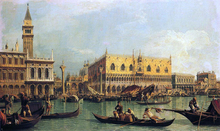 Piazzetta and the Doge's Palace from the Bacino di San Marco