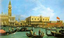 The Basin of San Marco on Ascension Day -  Canaletto