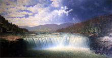 Falls of the Cumberland River, Whitley County, Kentucky - Carl Christian Brenner