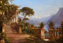 Lodge on Lake Como - Carl Frederic Aagaard