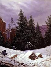 Cemetary on Mount Oybin - Carl Gustav Carus