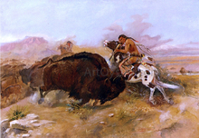 Meat for the Tribe - Charles Marion Russell