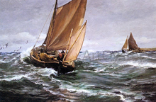 Floods, High Tides and Stormy Seas Paintings