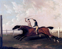 The Match Race At Epsom Between Little Driver And Aaron, May 16, 1754