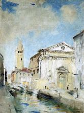 White Venice - Charles Webster Hawthorne