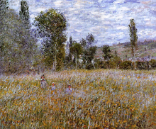 Pastures and Meadows Paintings