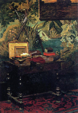 Corner of a Studio - Claude Oscar Monet