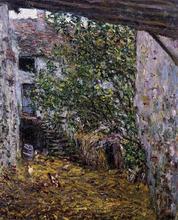 Farmyard - Claude Oscar Monet