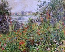 Flowers at Vetheuil - Claude Oscar Monet