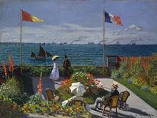 Jardin a Sainte-Adresse - Claude Oscar Monet