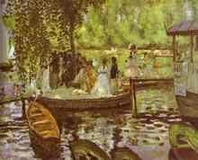 La Grenouillere - Claude Oscar Monet