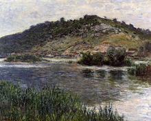 Landscape at Port-Villez - Claude Oscar Monet