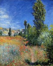 Landscape on the Ile Saint-Martin - Claude Oscar Monet