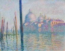 Le Grand Canal - Claude Oscar Monet
