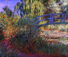 A Path along the Water-Lily Pond - Claude Oscar Monet