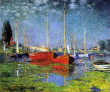 A Pleasure Boat at Argenteuil