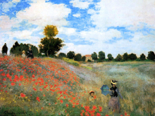 A Field of Poppies at Argenteuil