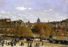 Quai du Louvre - Claude Oscar Monet