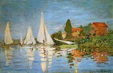 A Regatta at Argenteuil - Claude Oscar Monet