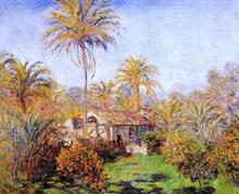 Small Country Farm in Bordighera - Claude Oscar Monet