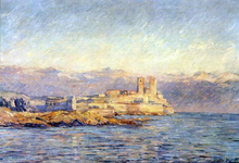 The Castle in Antibes - Claude Oscar Monet