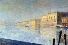 The Doges' Palace - Claude Oscar Monet