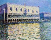 The Palazzo Ducale - Claude Oscar Monet