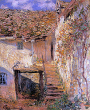 The Steps - Claude Oscar Monet