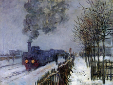 Trains and Rails Paintings