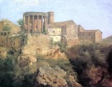 View at Tivoli - Claude-Joseph Vernet