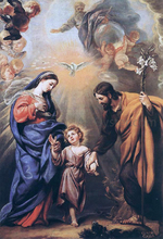 The Holy Family Paintings