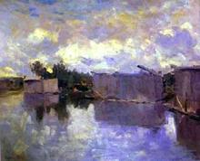 Bath-Houses - Constantin Alexeevich Korovin