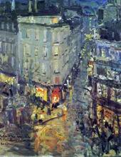 Paris, Boulevard des Capucines - Constantin Alexeevich Korovin