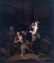 Tavern Scene - Cornelis Bega