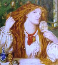 Woman Combing Her Hair - Dante Gabriel Rossetti