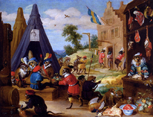 A Festival Of Monkeys - The Younger David Teniers