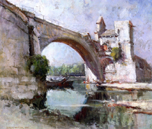 A Bridge at Avignon - Dawson Dawson-Watson