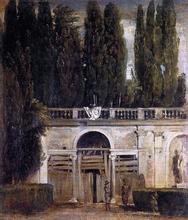 Villa Medici in Rome (also known as Facade of the Grotto-Logia) - Diego Velazquez