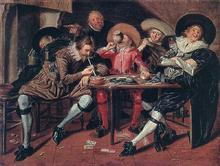 Merry Party in a Tavern - Dirck Hals