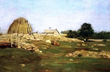 Farmyard - Dwight W Tryon