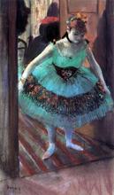 A Dancer Leaving Her Dressing Room - Edgar Degas