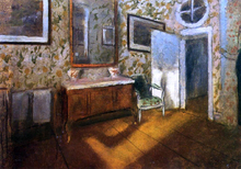 Interior at Menil-Hubert - Edgar Degas