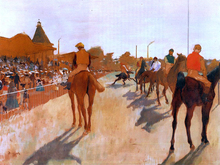 Horse Racing Paintings