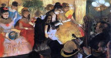 The Cafe Concert - Edgar Degas