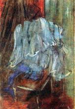 Vestment on a Chair - Edgar Degas