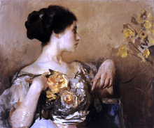 Lady with a Corsage
