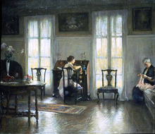 Mother and Mary - Edmund Tarbell