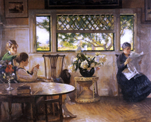 Mother, Mercie, and Mary - Edmund Tarbell