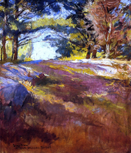 Study for 'On Bos'n's Hill